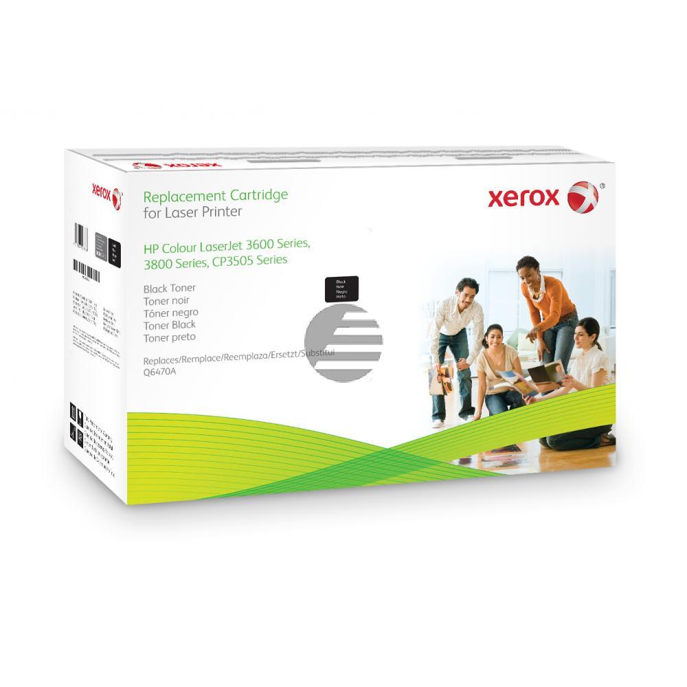 Xerox Toner-Kartusche Responsible schwarz (003R99759) ersetzt Q6470A / 501A