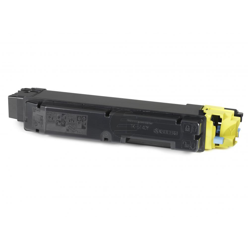 Kyocera Toner-Kit gelb (1T02NRANL0, TK-5140Y)