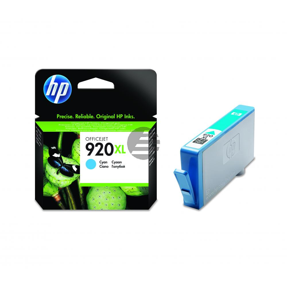 HP Tinte Cyan HC (CD972AE#BGX, 920XL)