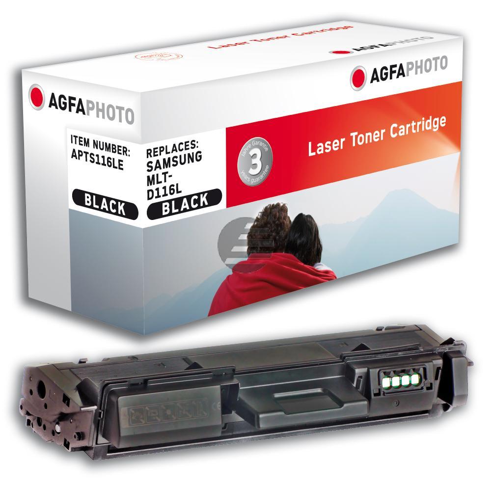 Agfaphoto Toner-Kartusche schwarz HC (APTS116LE)