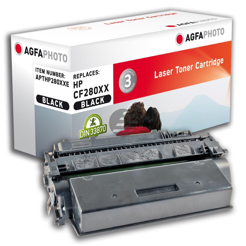 Agfaphoto Toner-Kartusche schwarz HC plus (APTHP280XXE)