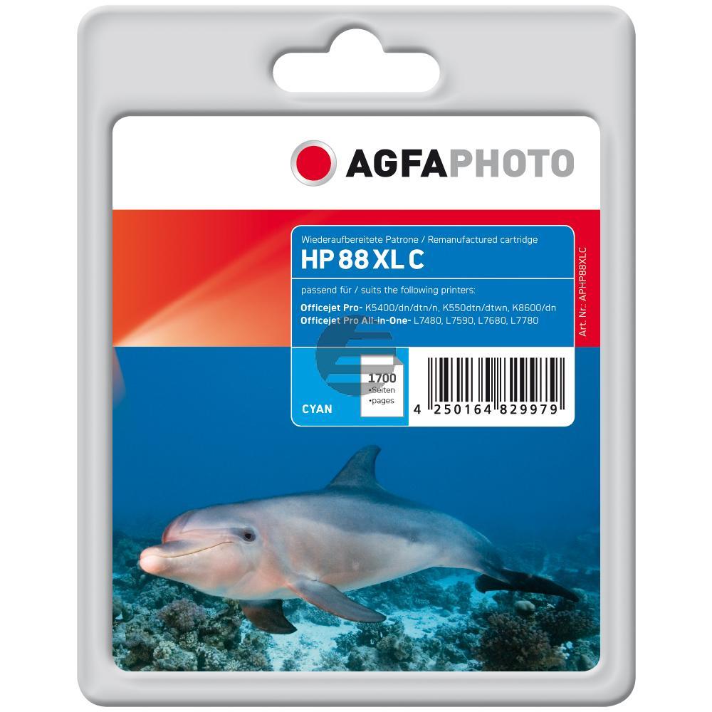 Agfaphoto Tintenpatrone cyan HC (APHP88XLC)