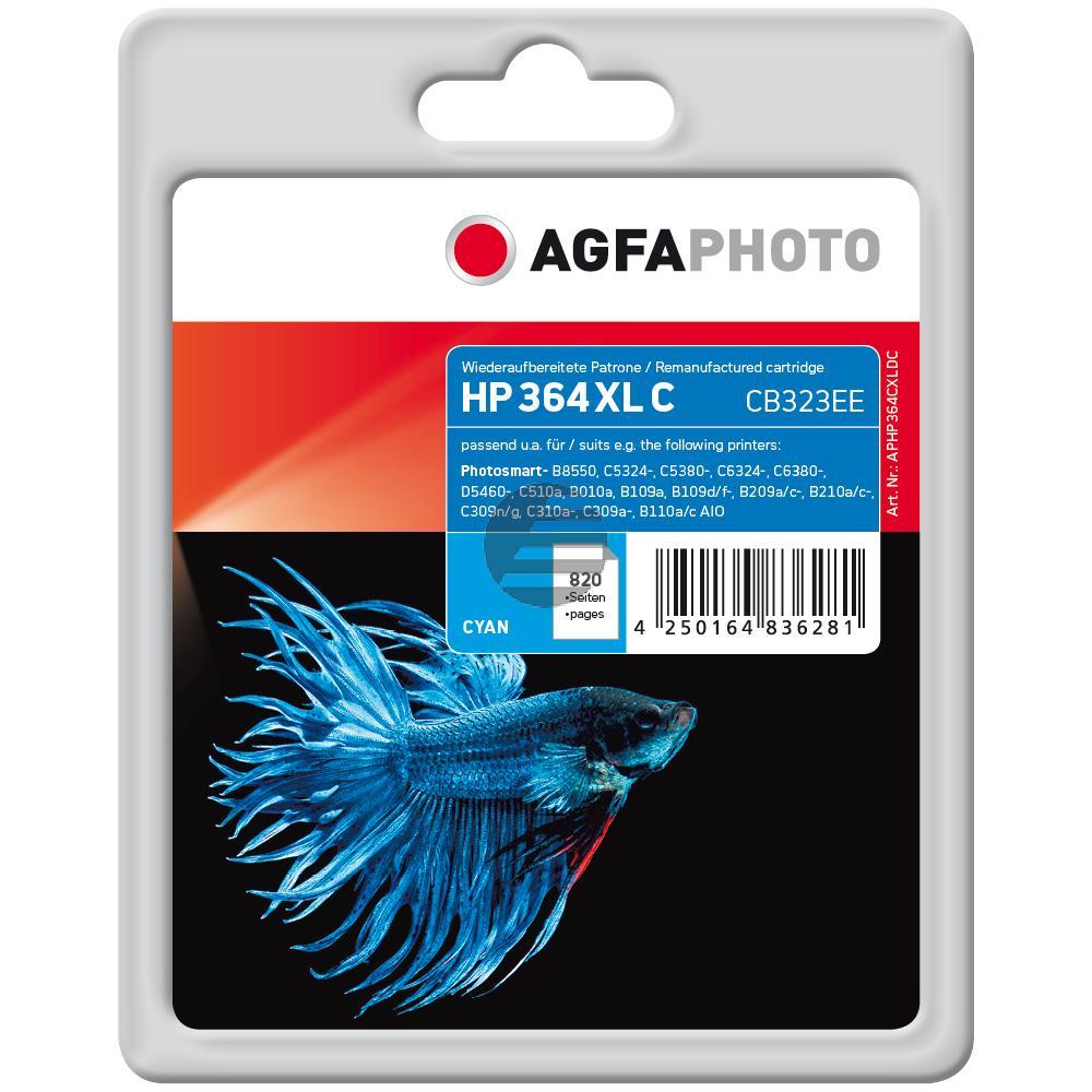 Agfaphoto Tintenpatrone cyan HC (APHP364CXLDC)