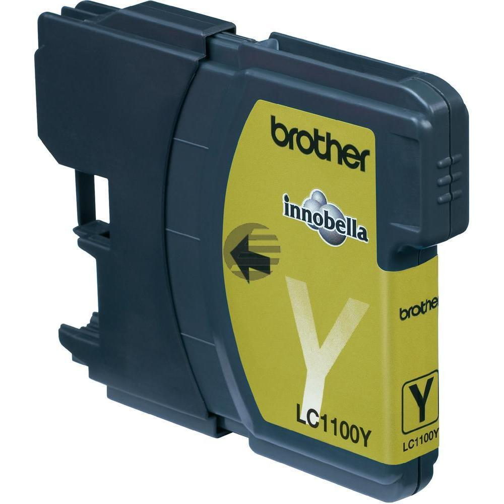 Brother Tinte gelb (LC-1100Y)