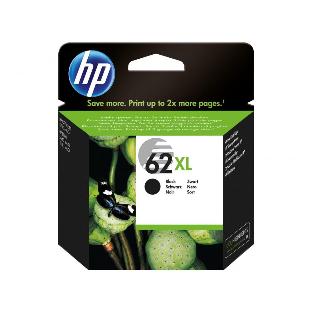 HP Tintendruckkopf schwarz HC (C2P05AE#301, 62XL)