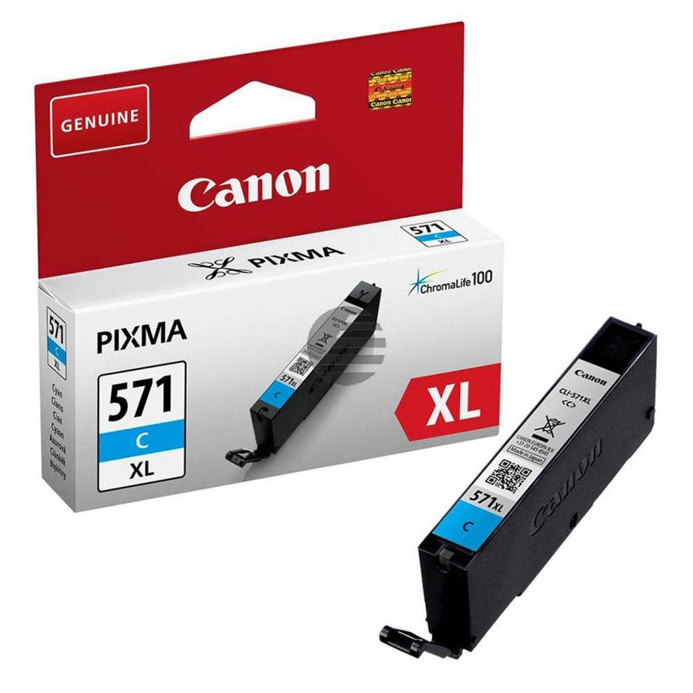 Canon Tinte Cyan HC (0332C001, CLI-571XLC)