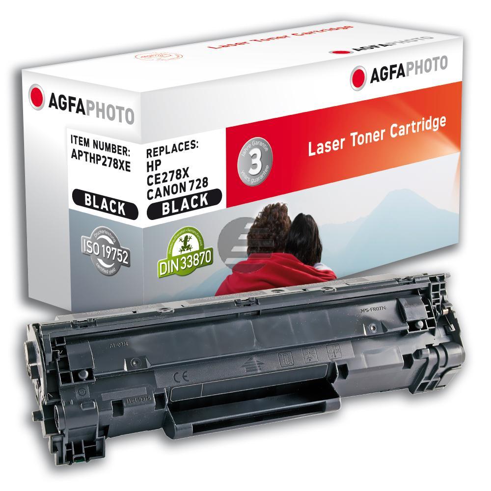 Agfaphoto Toner-Kartusche schwarz HC (APTHP278XE) ersetzt CE278A / 78A