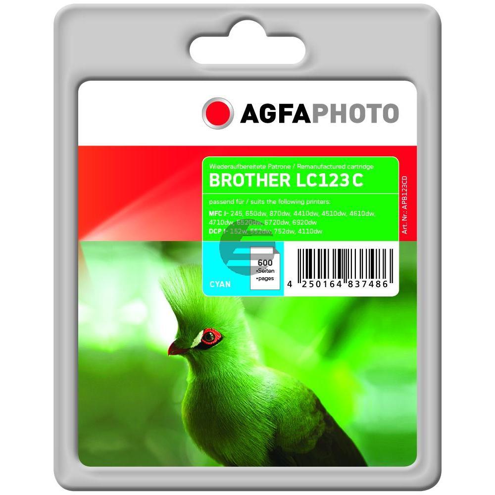 Agfaphoto Tinte Cyan (APB123CD)
