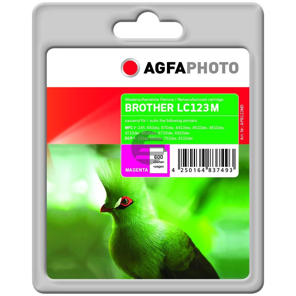 Agfaphoto Tinte Magenta (APB123MD)