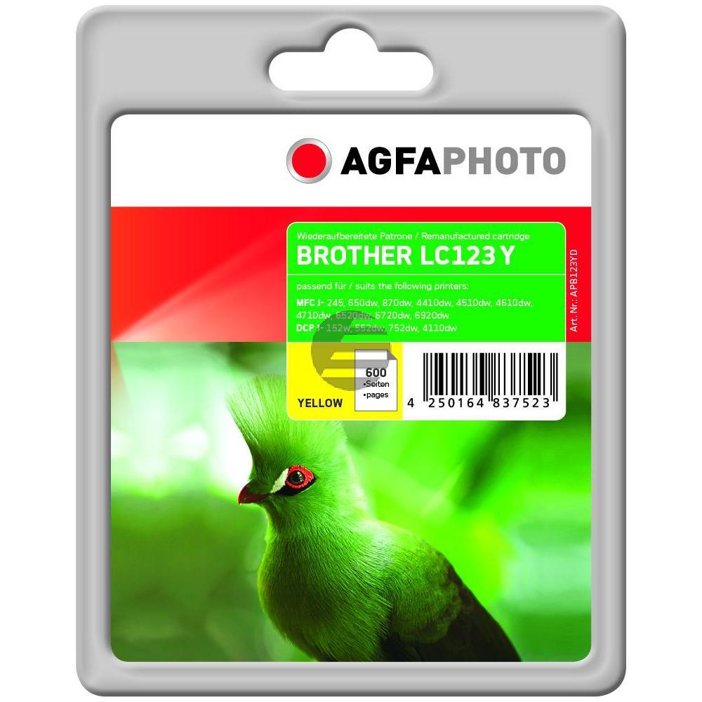 Agfaphoto Tinte gelb (APB123YD)