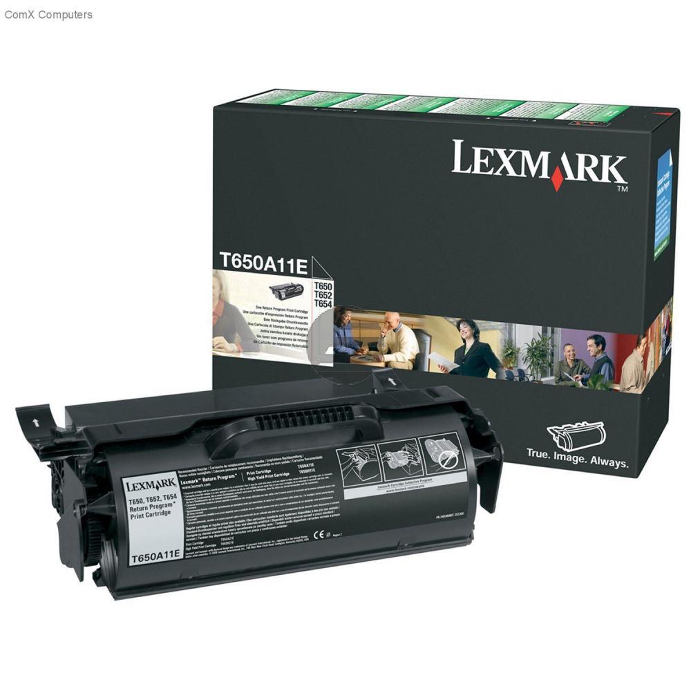 Lexmark Toner-Kartusche Prebate schwarz (T650A11E)