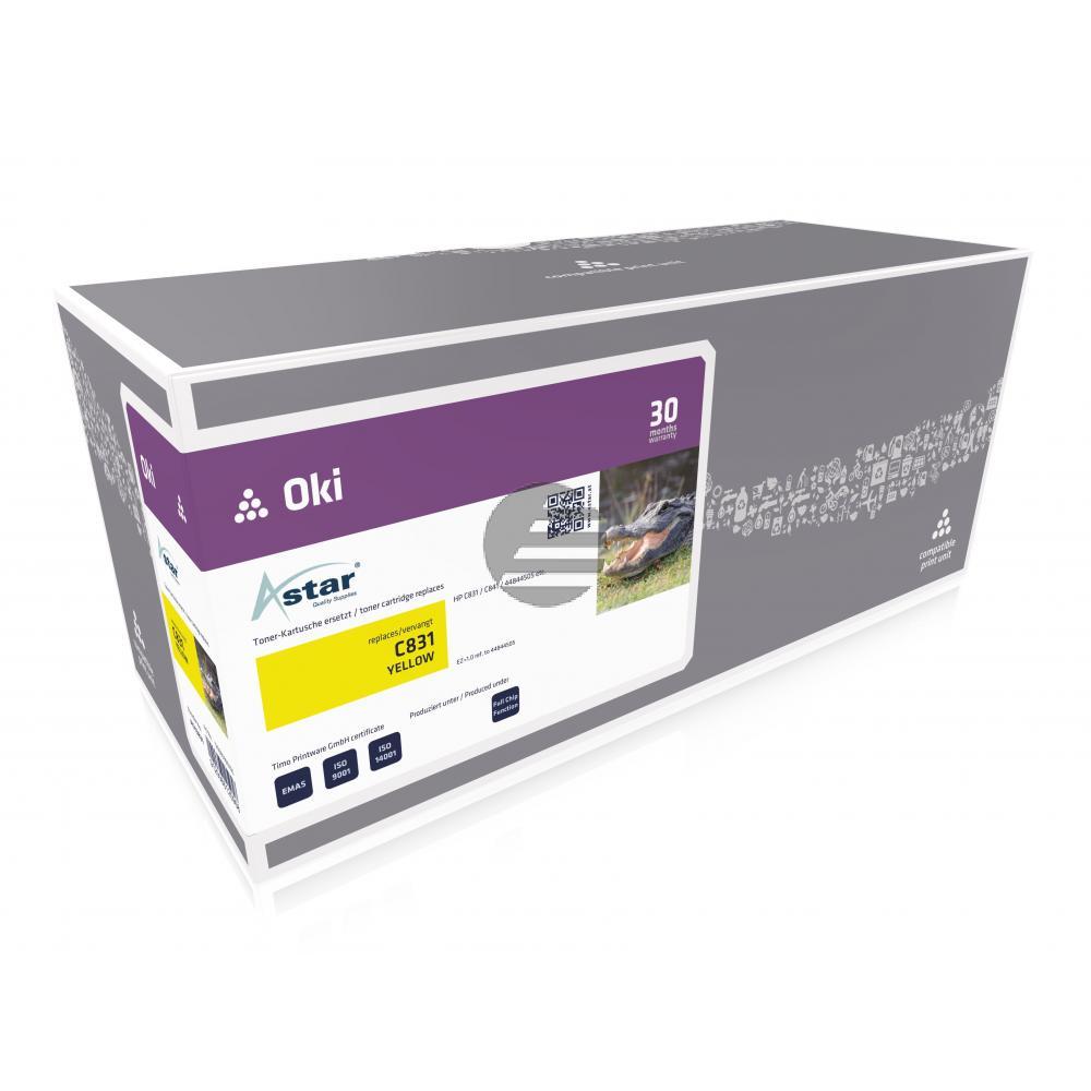 Astar Toner-Kit gelb (AS13831)