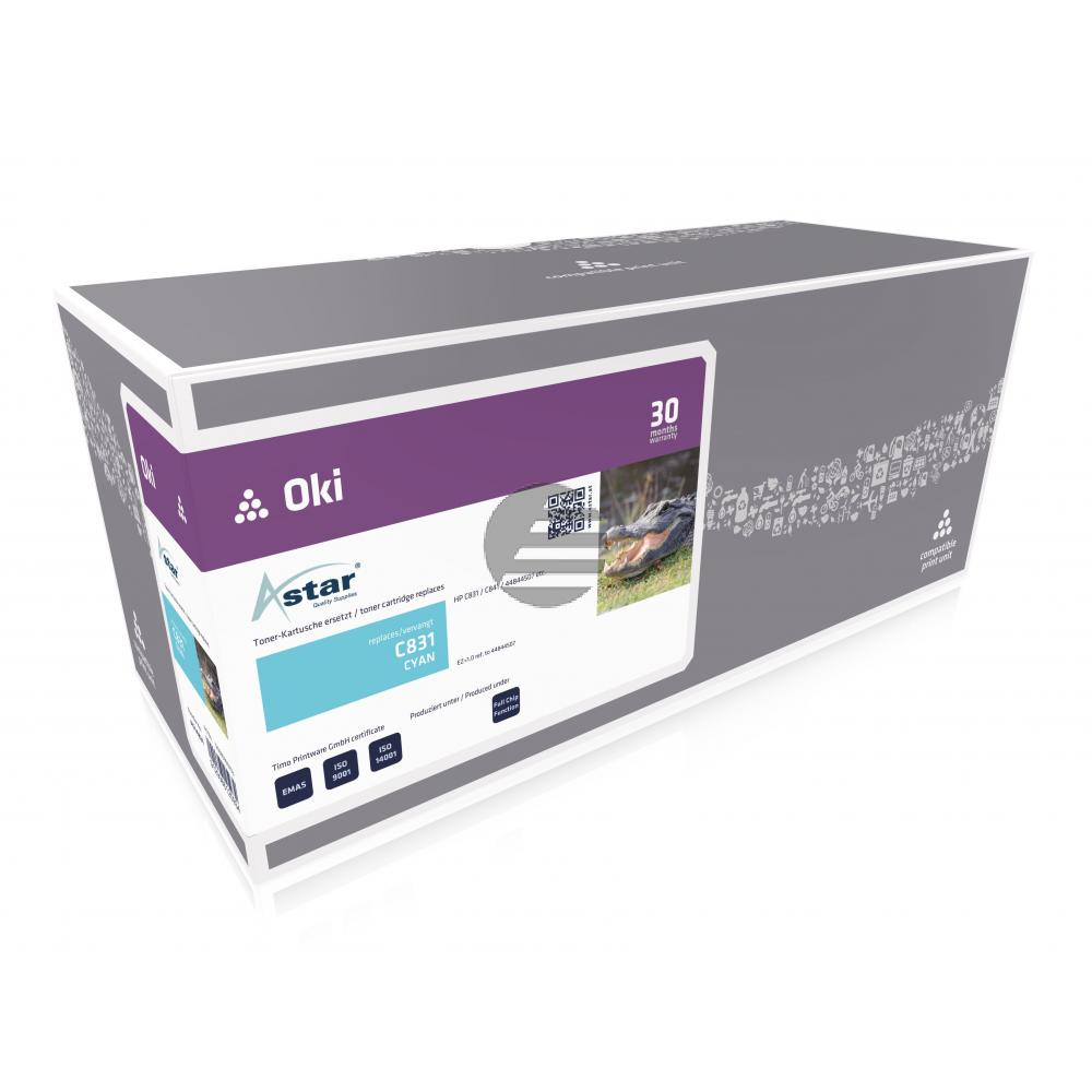Astar Toner-Kit cyan (AS14831)