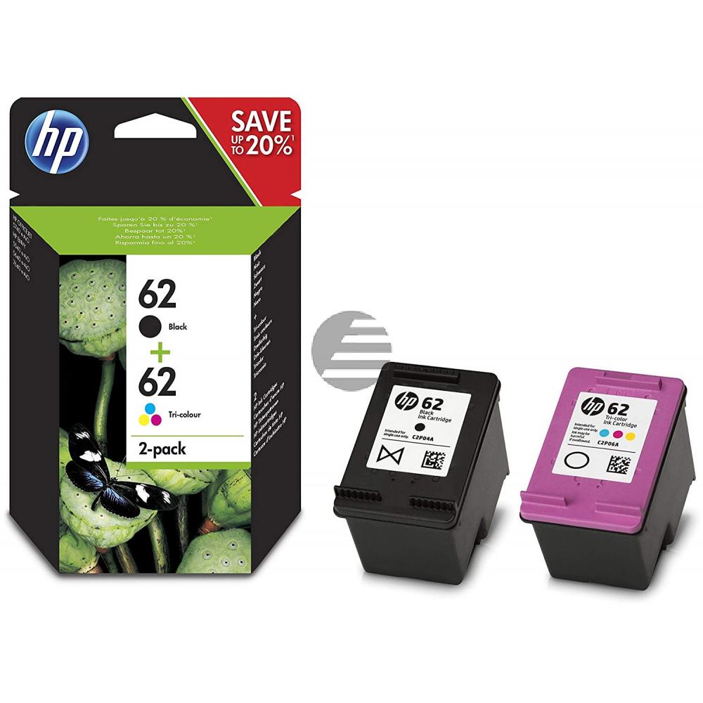 HP Tintendruckkopf cyan/gelb/magenta schwarz (N9J71AE, 62)
