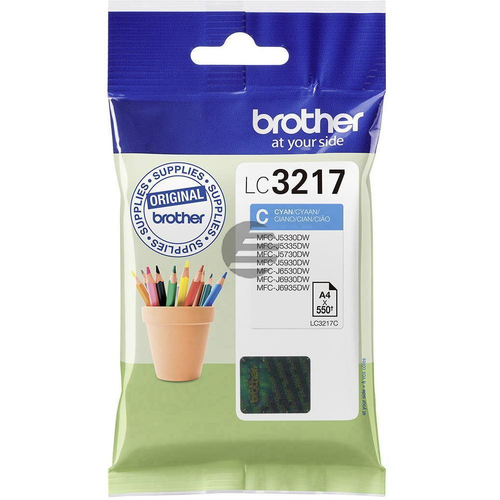 Brother Tinte Cyan (LC-3217C)