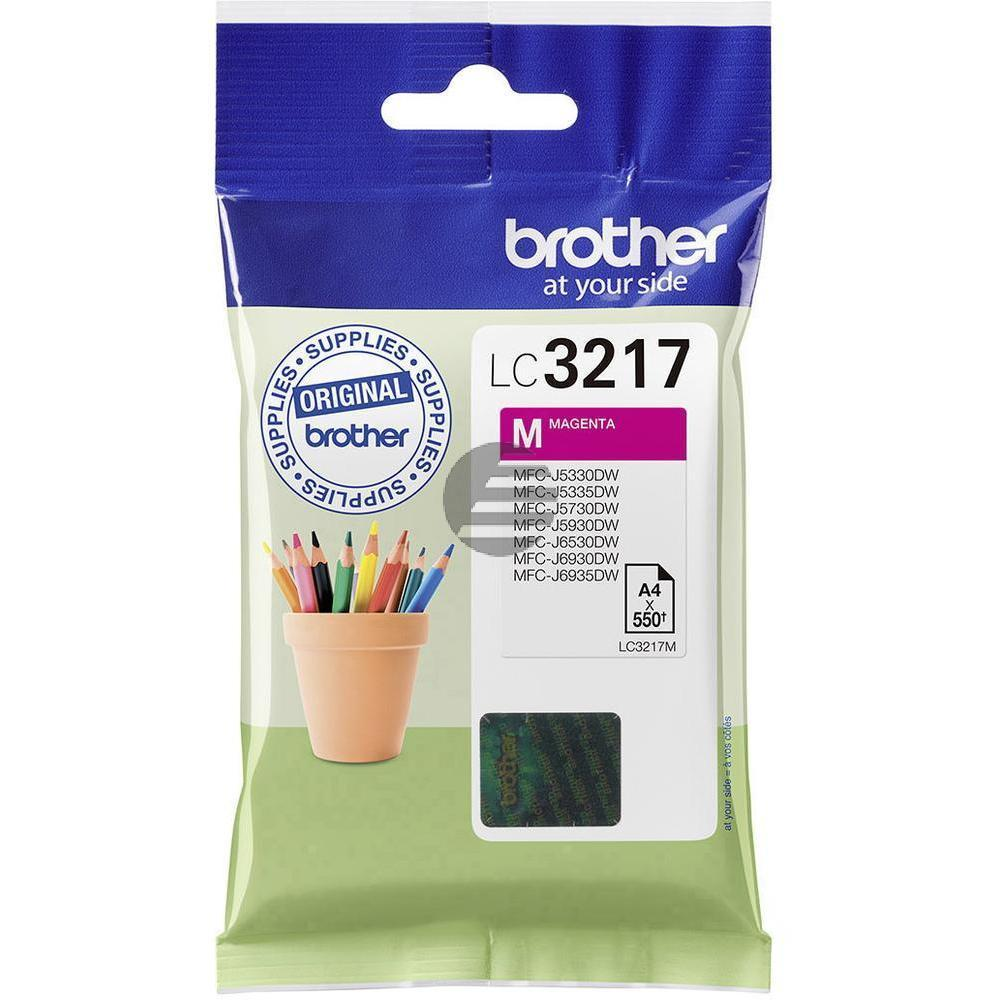 Brother Tinte Magenta (LC-3217M)