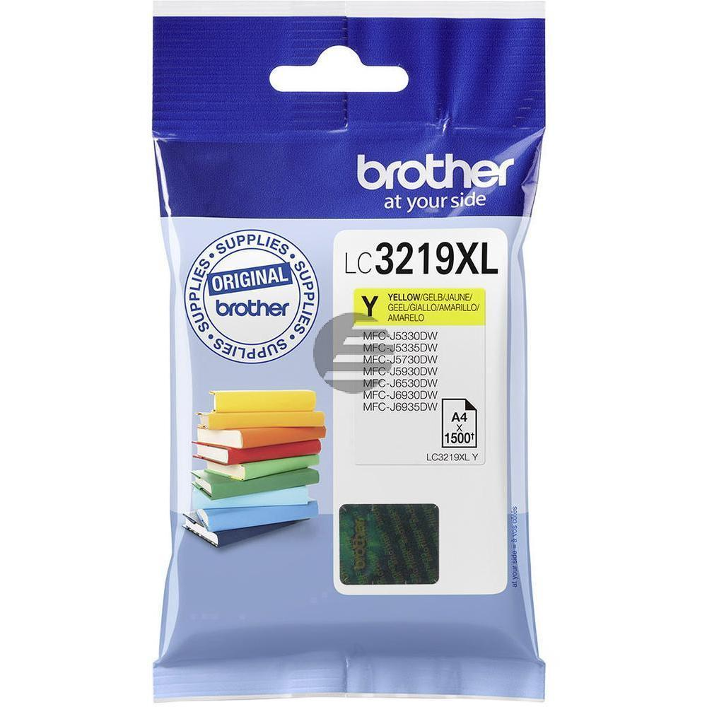Brother Tinte gelb HC (LC-3219XLY)