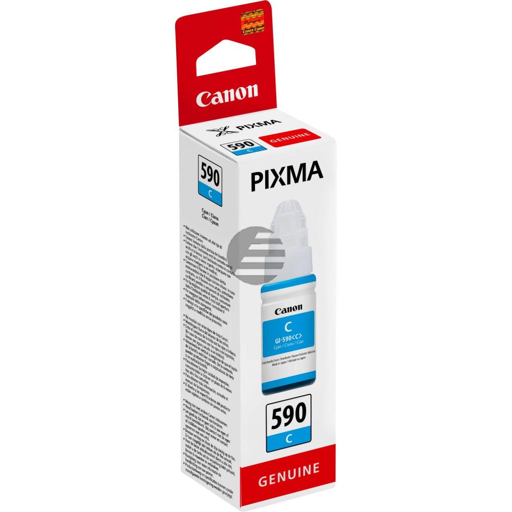 Canon Tintennachfüllfläschchen cyan (1604C001, GI-590C)