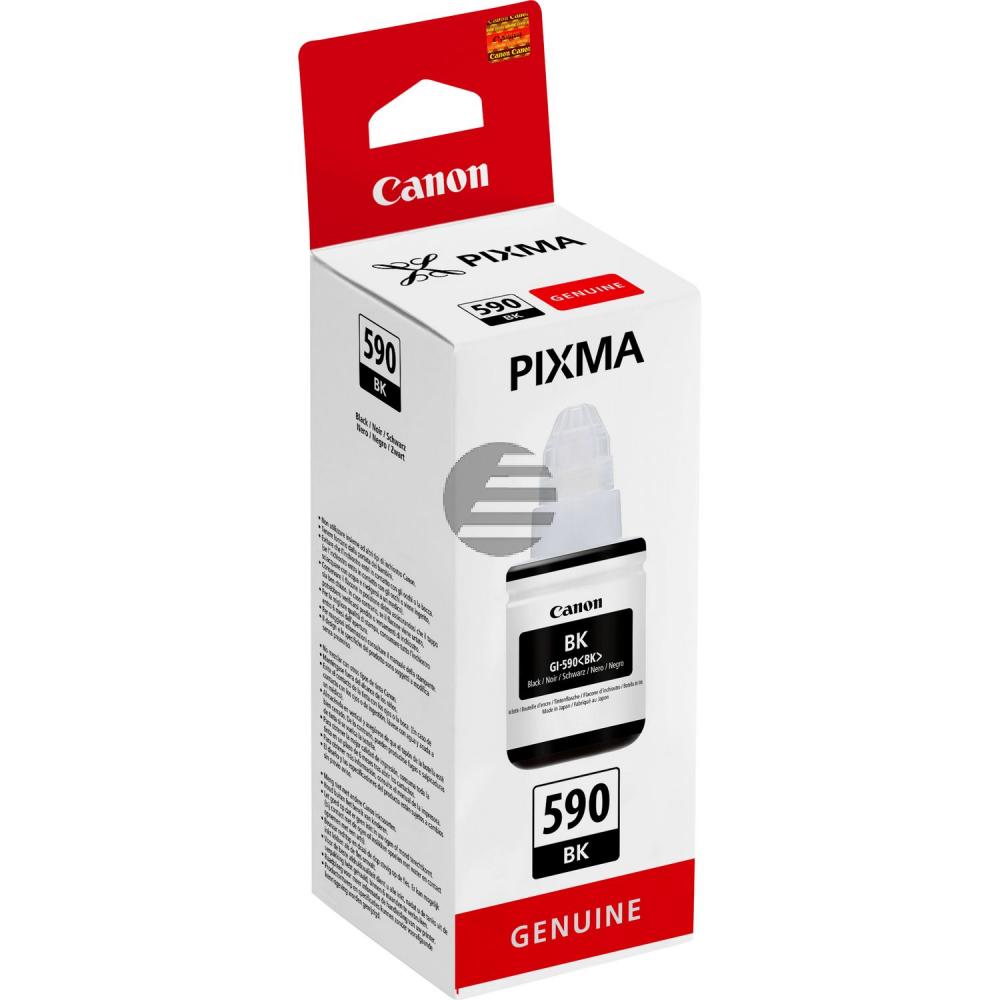 Canon Tintennachfüllfläschchen schwarz (1603C001, GI-590BK)
