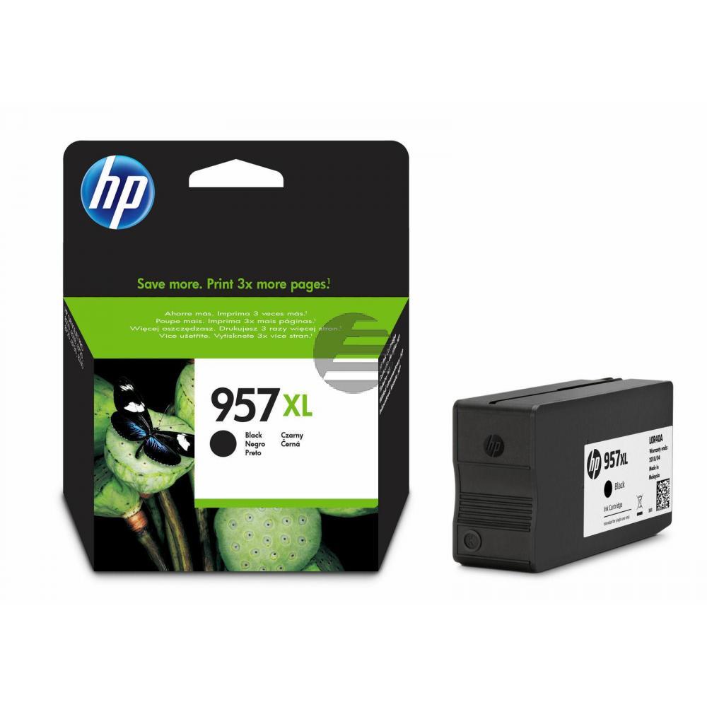 HP Tinte schwarz HC plus (L0R40AE#BGX, 957XL)
