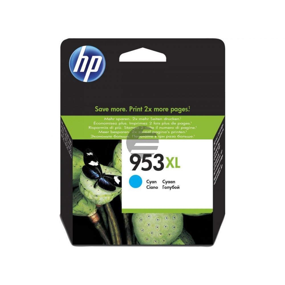 HP Tinte Cyan HC (F6U16AE#301, 953XL)