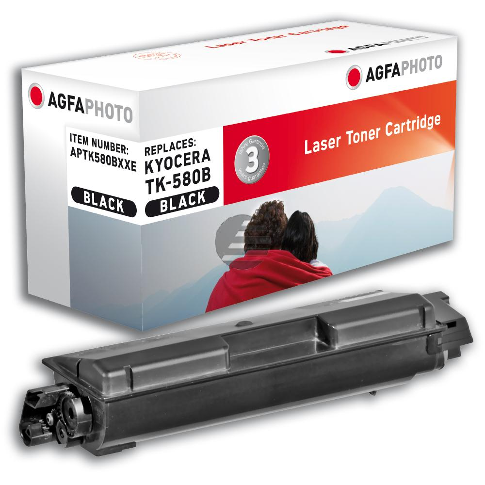 Agfaphoto Toner-Kit schwarz HC plus (APTK580BXXE)