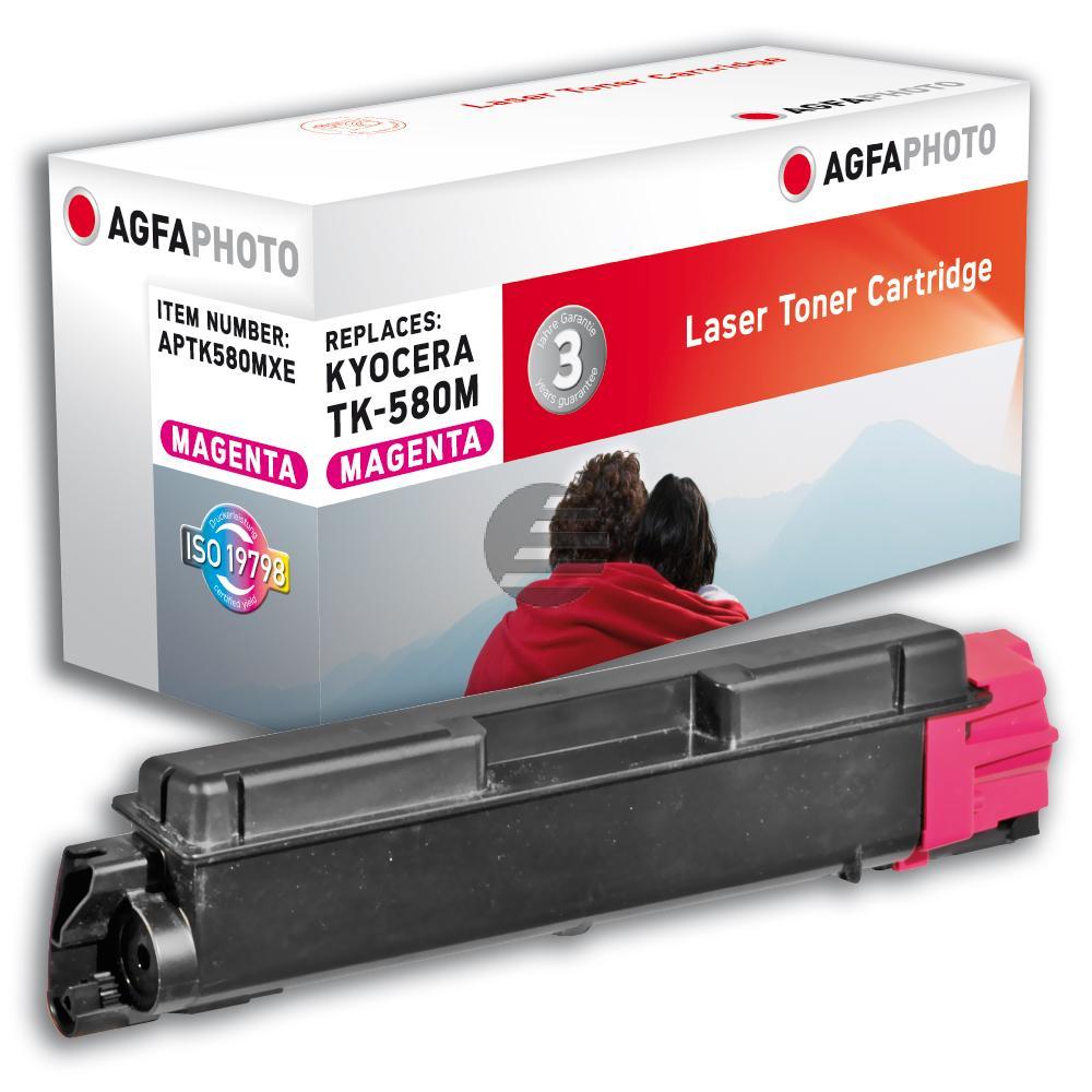 Agfaphoto Toner-Kit magenta HC (APTK580MXE)