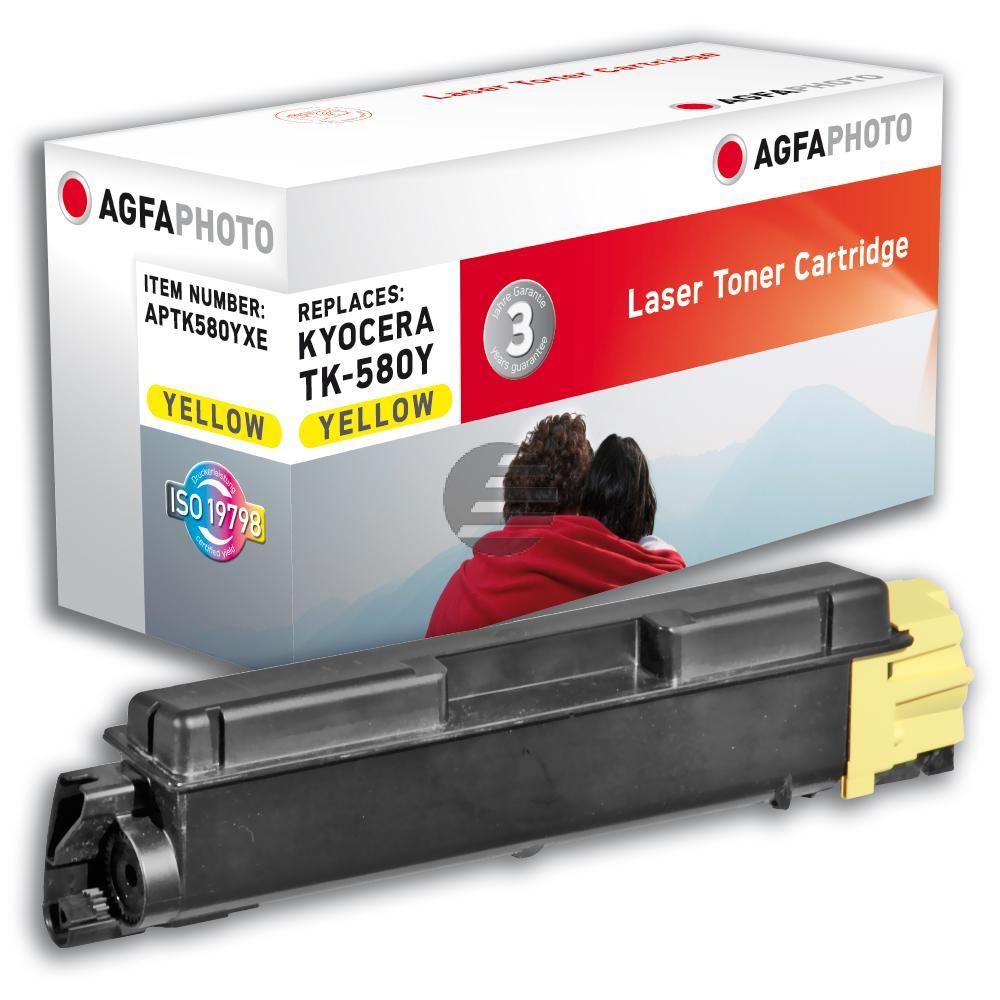 Agfaphoto Toner-Kit gelb HC (APTK580YXE)