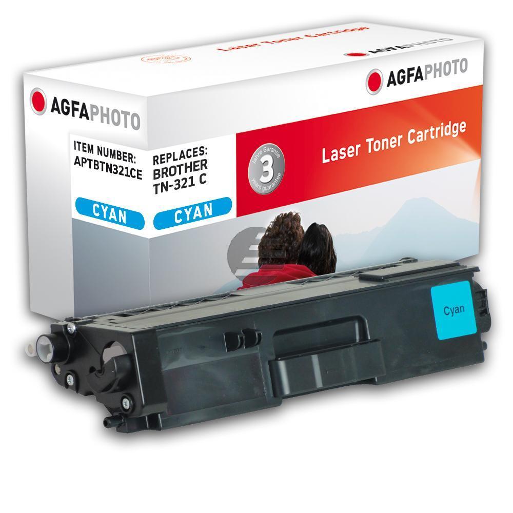 Agfaphoto Toner-Kartusche cyan (APTBTN321CE) ersetzt TN-321C