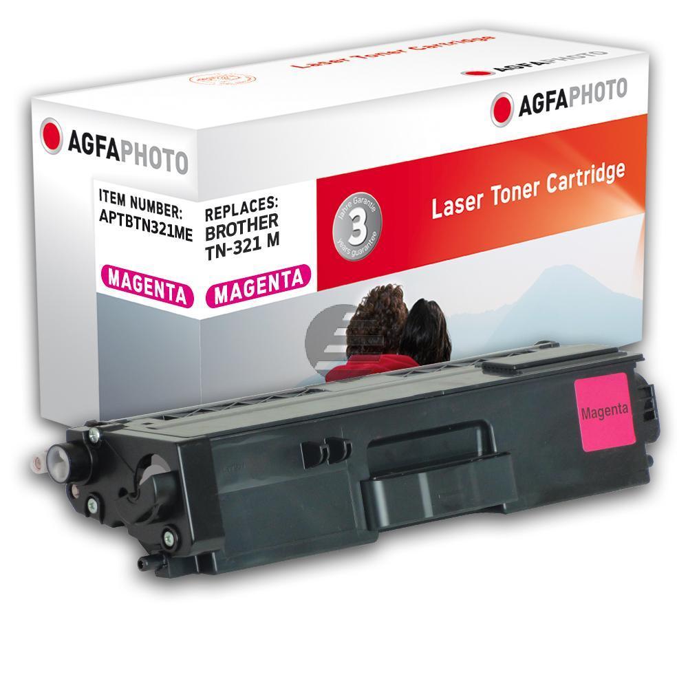 Agfaphoto Toner-Kartusche magenta (APTBTN321ME) ersetzt TN-321M