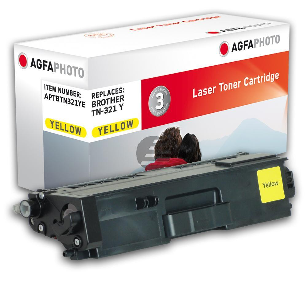 Agfaphoto Toner-Kartusche gelb (APTBTN321YE) ersetzt TN-321Y