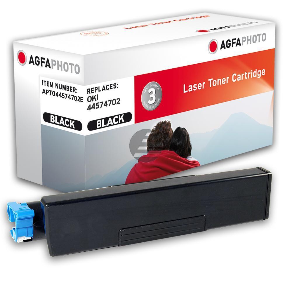 Agfaphoto Toner-Kit schwarz (APTO44574702E) ersetzt 44574702