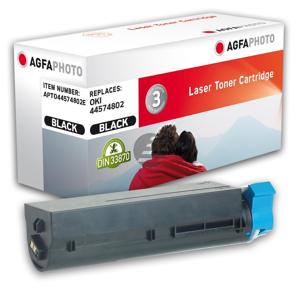 Agfaphoto Toner-Kit schwarz (APTO44574802E)