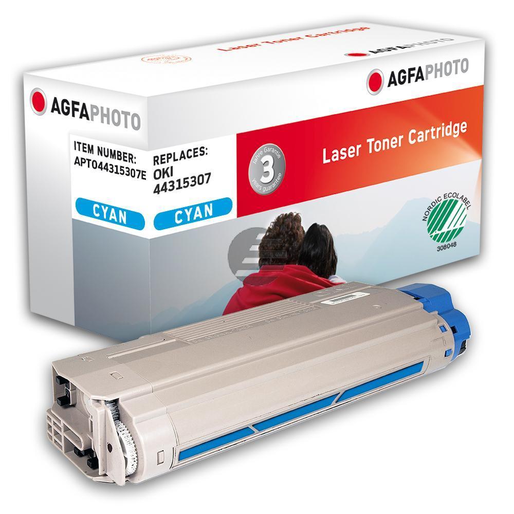 Agfaphoto Toner-Kit cyan (APTO44315307E)