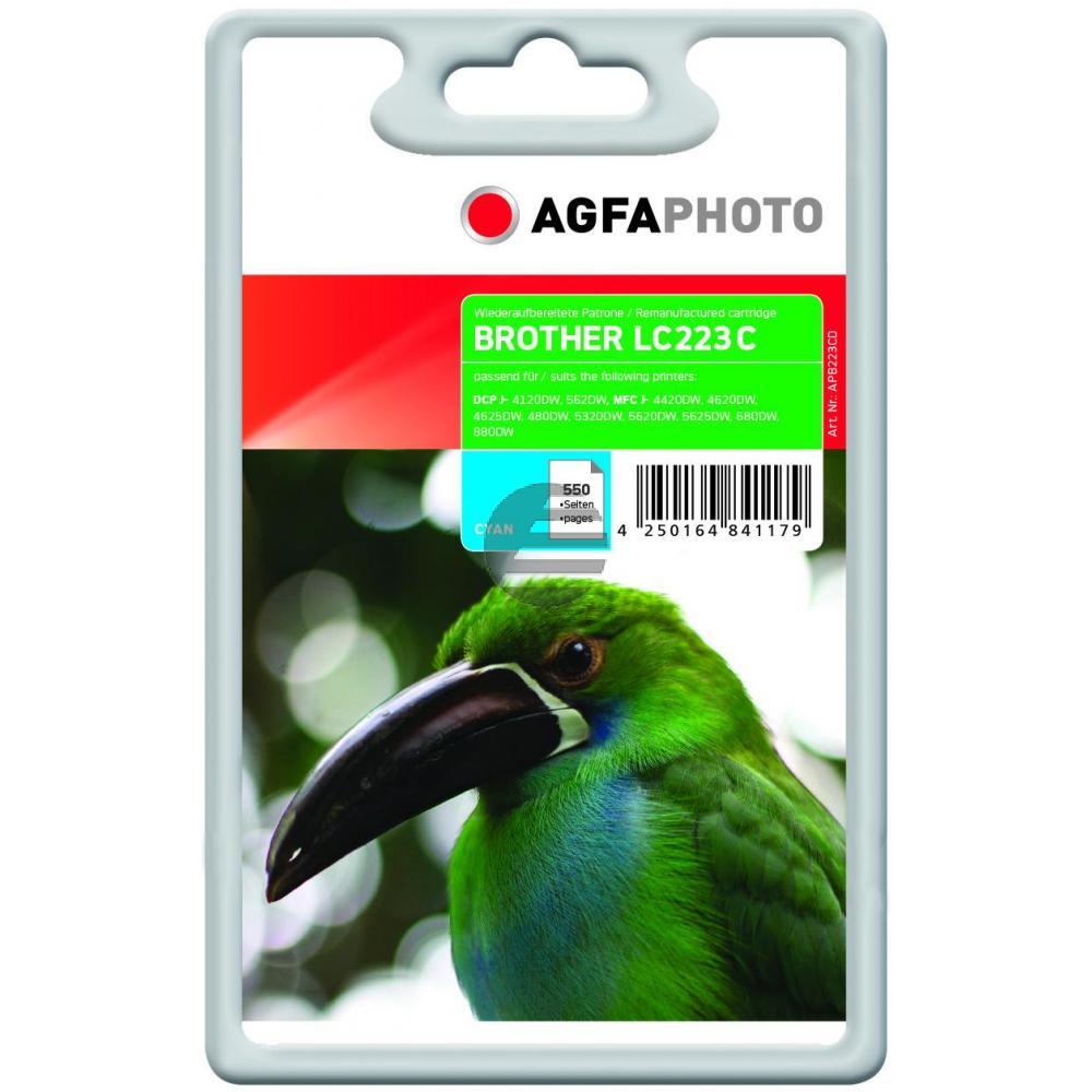 Agfaphoto Tintenpatrone cyan (APB223CD)