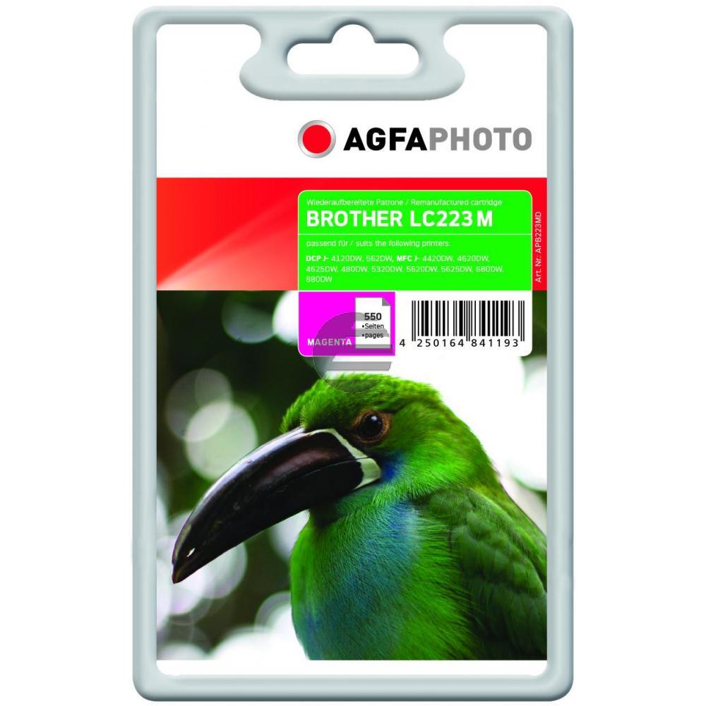 Agfaphoto Tintenpatrone magenta (APB223MD)