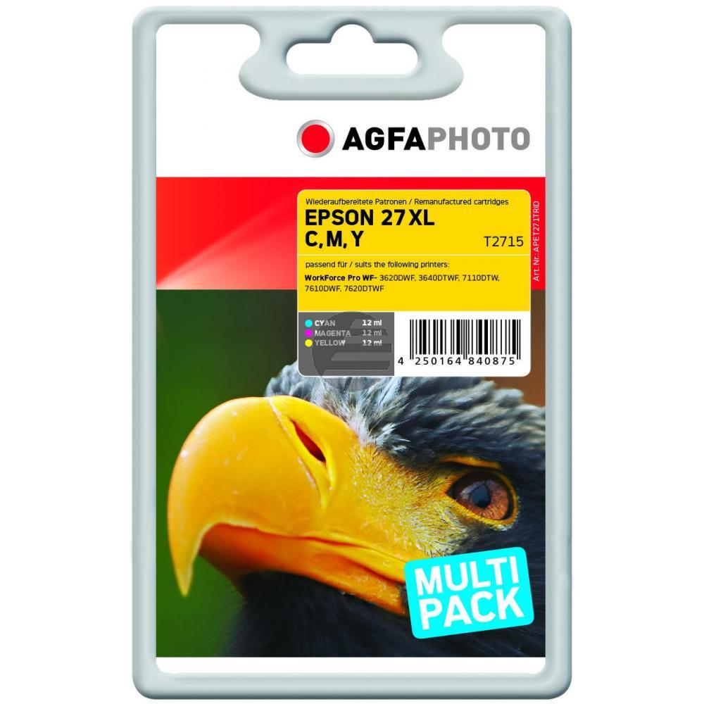 Agfaphoto Tinte gelb Cyan Magenta HC (APET271TRID)
