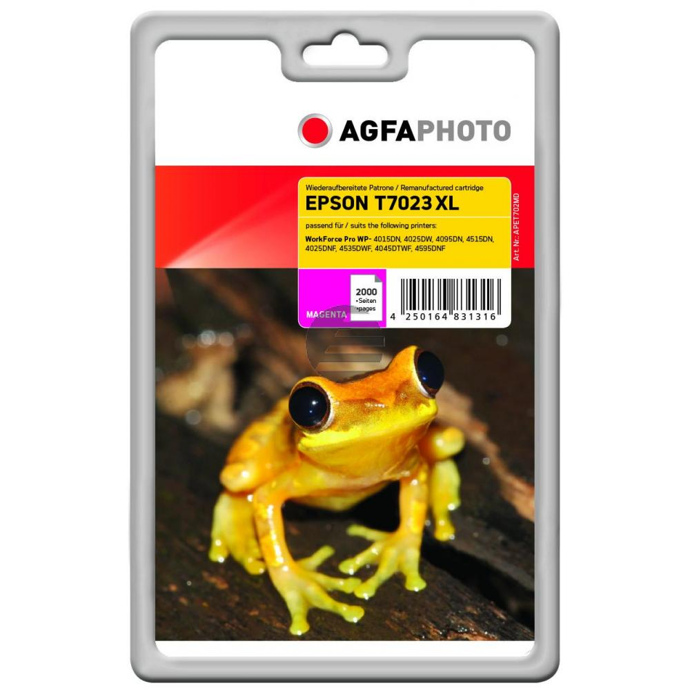 Agfaphoto Tintenpatrone magenta HC (APET702MD)
