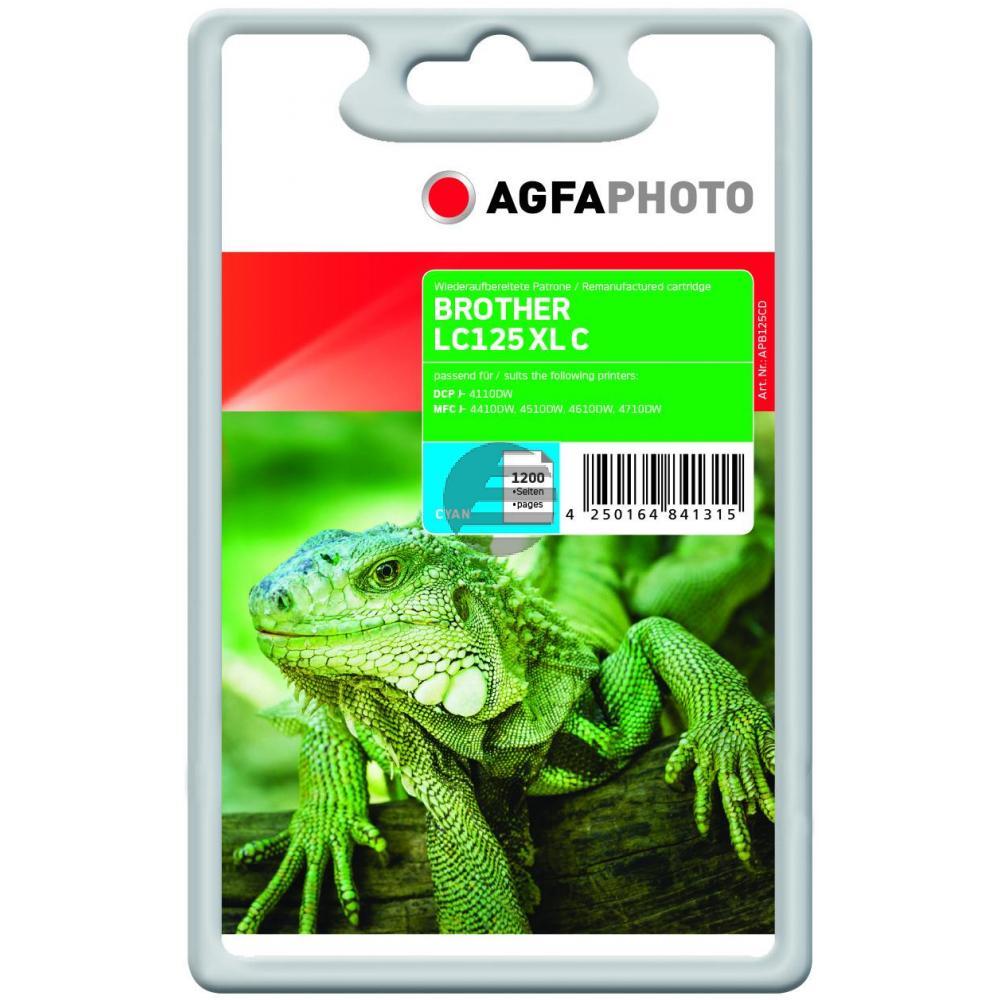 Agfaphoto Tinte Cyan (APB125CD)