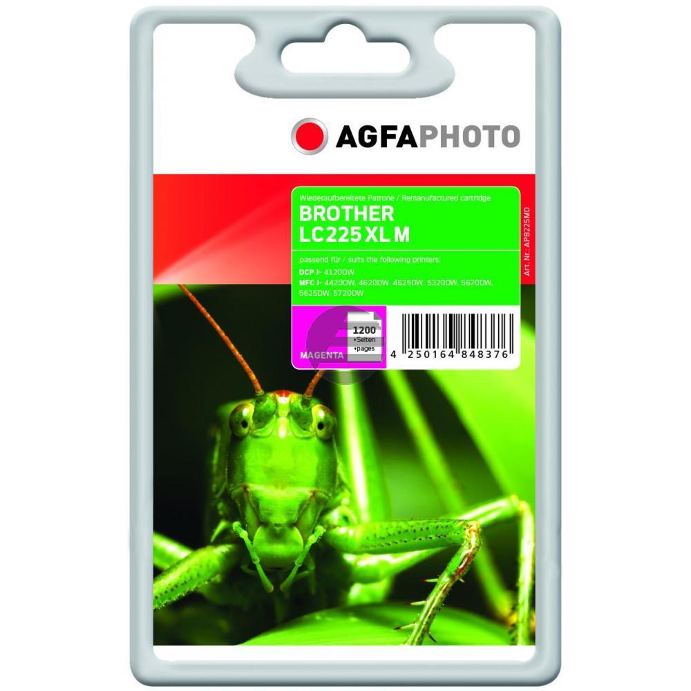 Agfaphoto Tintenpatrone magenta (APB225MD)
