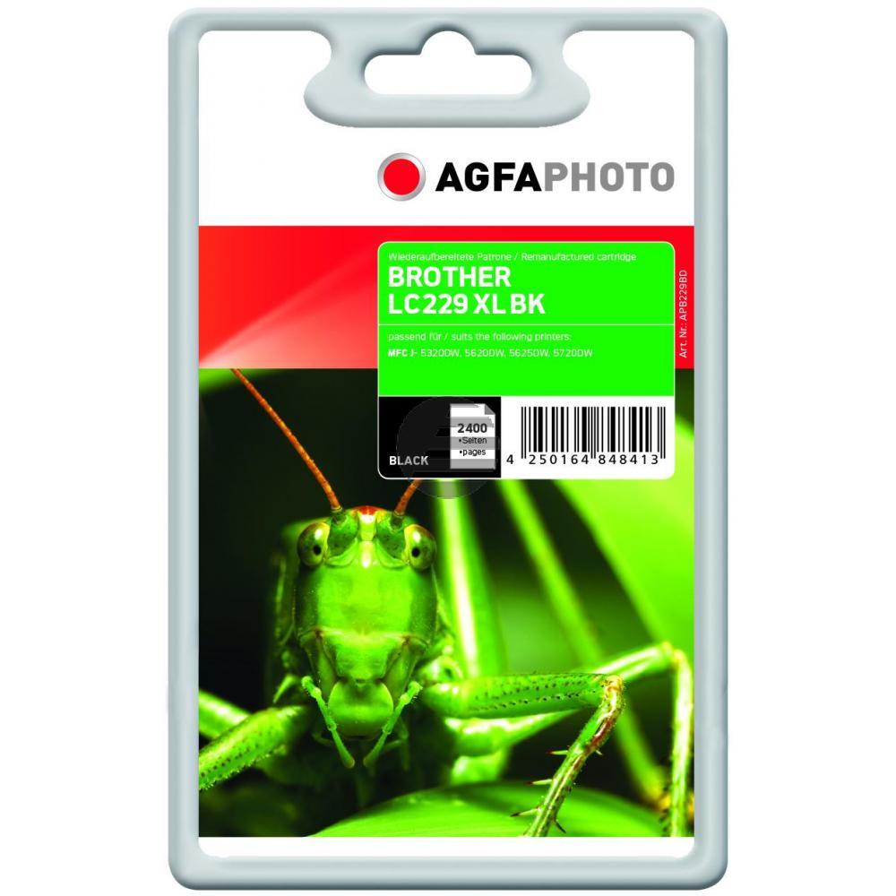 Agfaphoto Tintenpatrone schwarz (APB229BD)