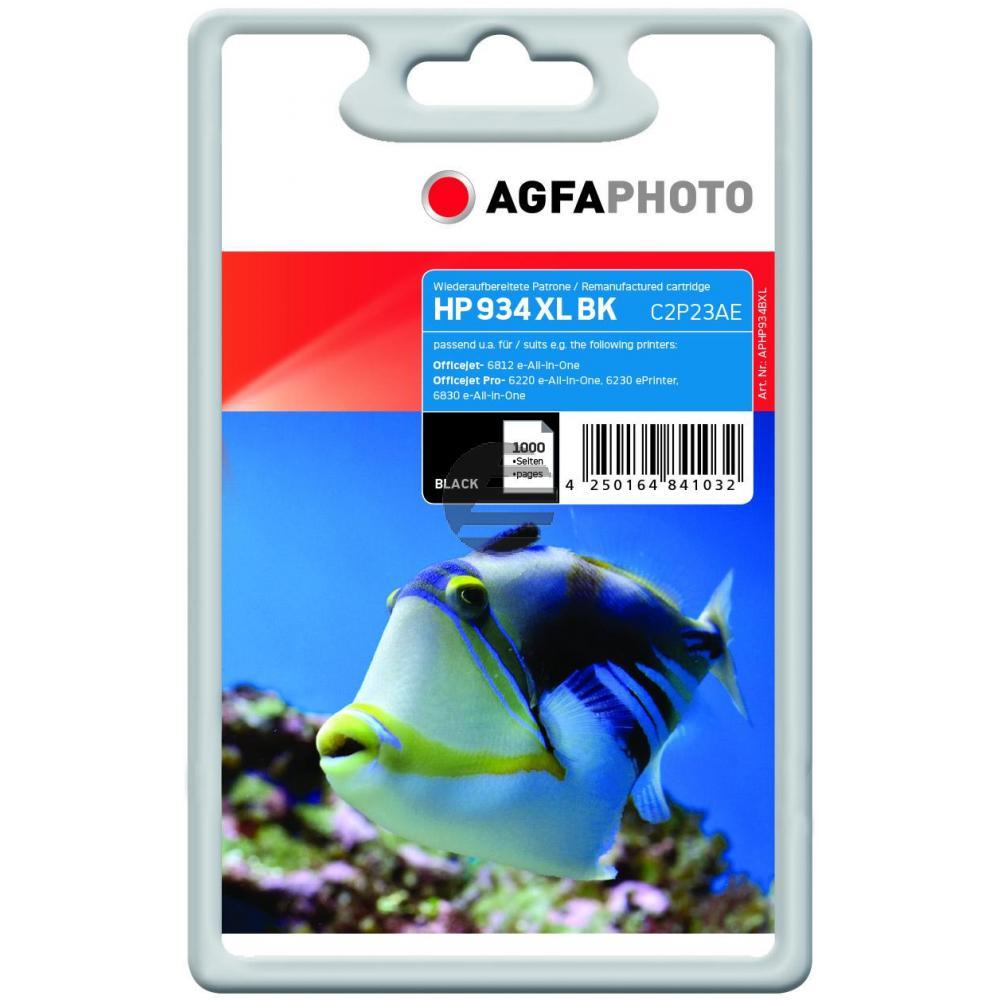 Agfaphoto Tintenpatrone schwarz HC (APHP934BXL)