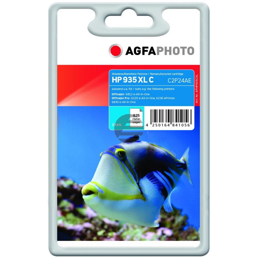 Agfaphoto Tintenpatrone cyan HC (APHP935CXL)