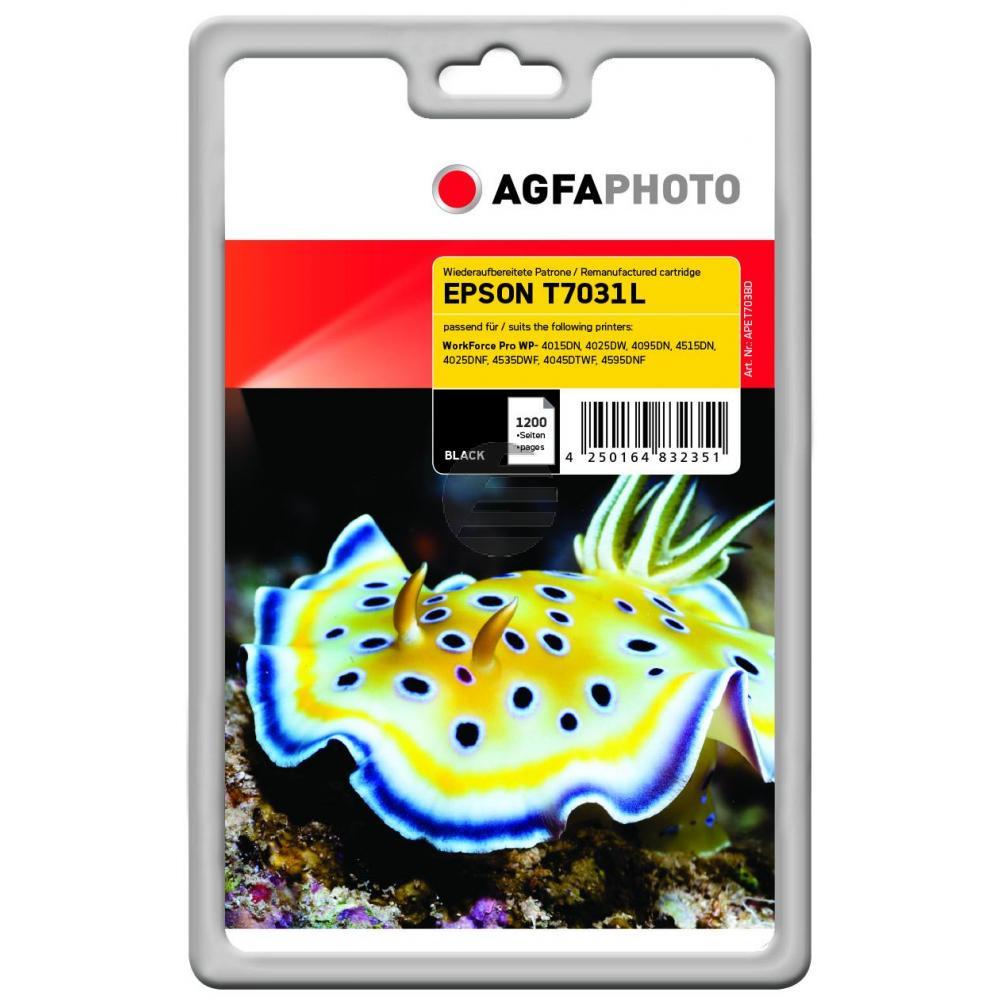 Agfaphoto Tintenpatrone schwarz (APET703BD)
