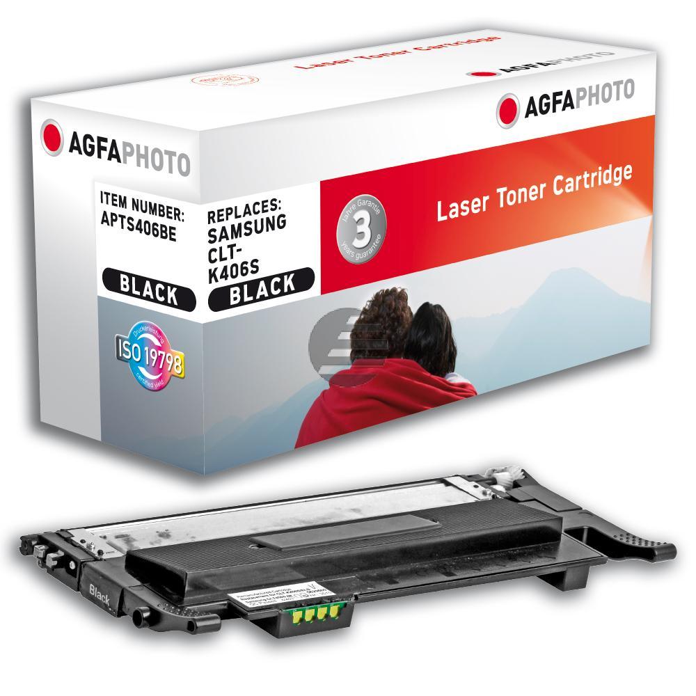 Agfaphoto Toner-Kit schwarz (APTS406BE) ersetzt CLT-K406S / K406