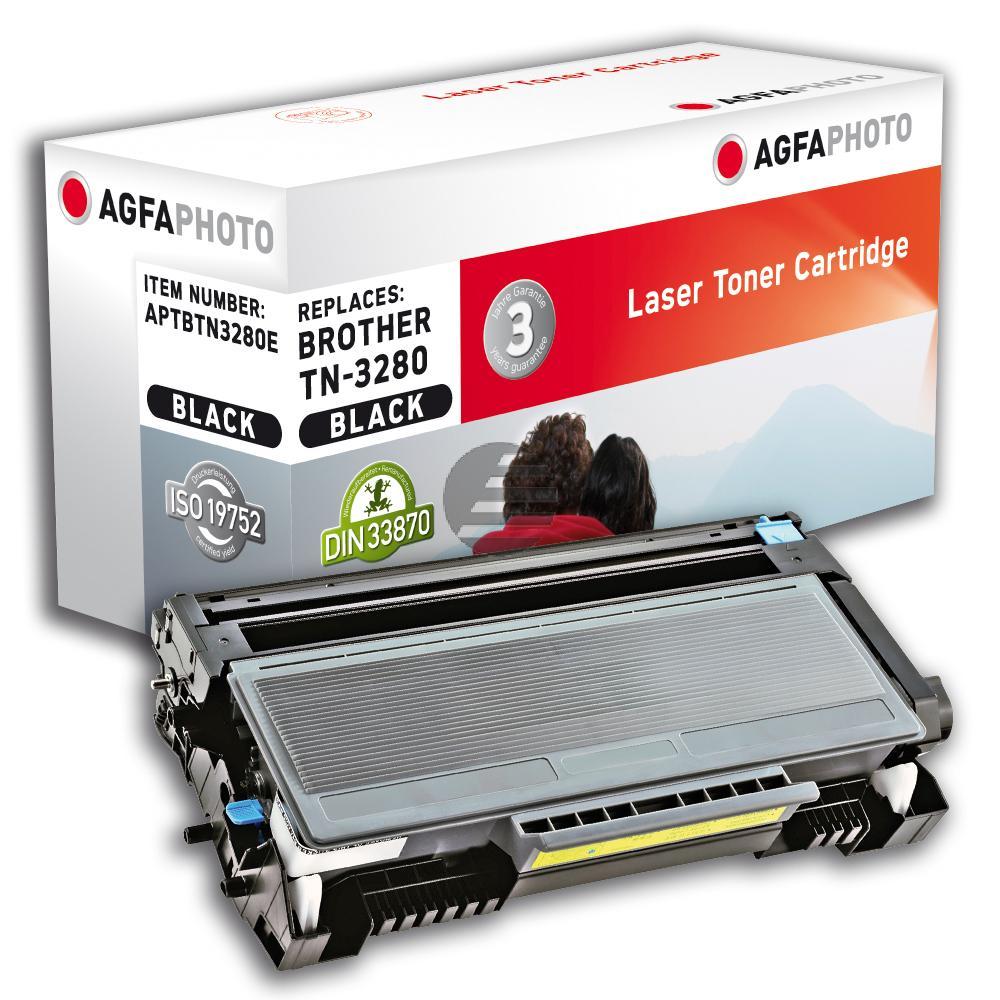 Agfaphoto Toner-Kit 2 x schwarz HC (APTBTN3280DUOE)