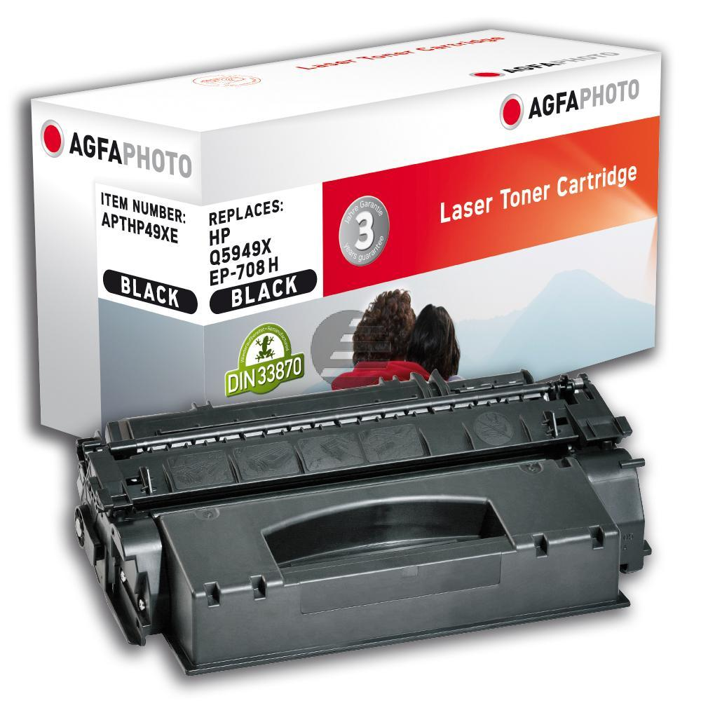 Agfaphoto Toner-Kartusche 2 x schwarz 2-Pack HC (APTHP49XDUOE) ersetzt Q5949X / Q5949XD / 0917B002