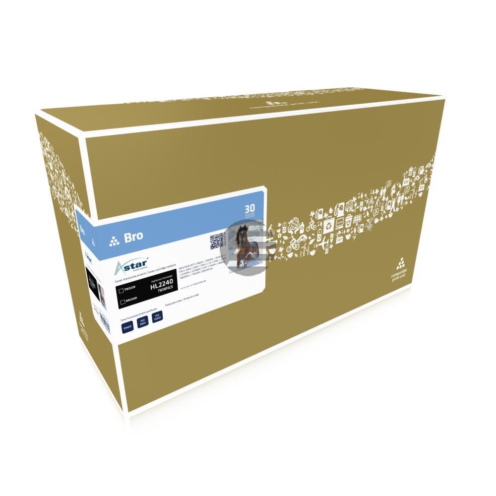 Astar Fotoleitertrommel Toner-Kit schwarz HC (AS52004)