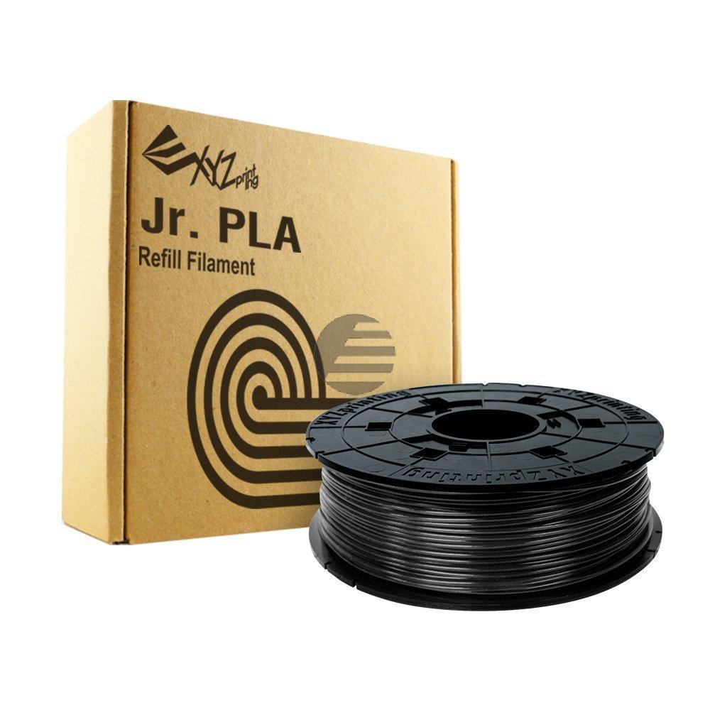PLA FILAMENT JUNIOR BLACK RFPLCXEU01B 1.75mm 600gr