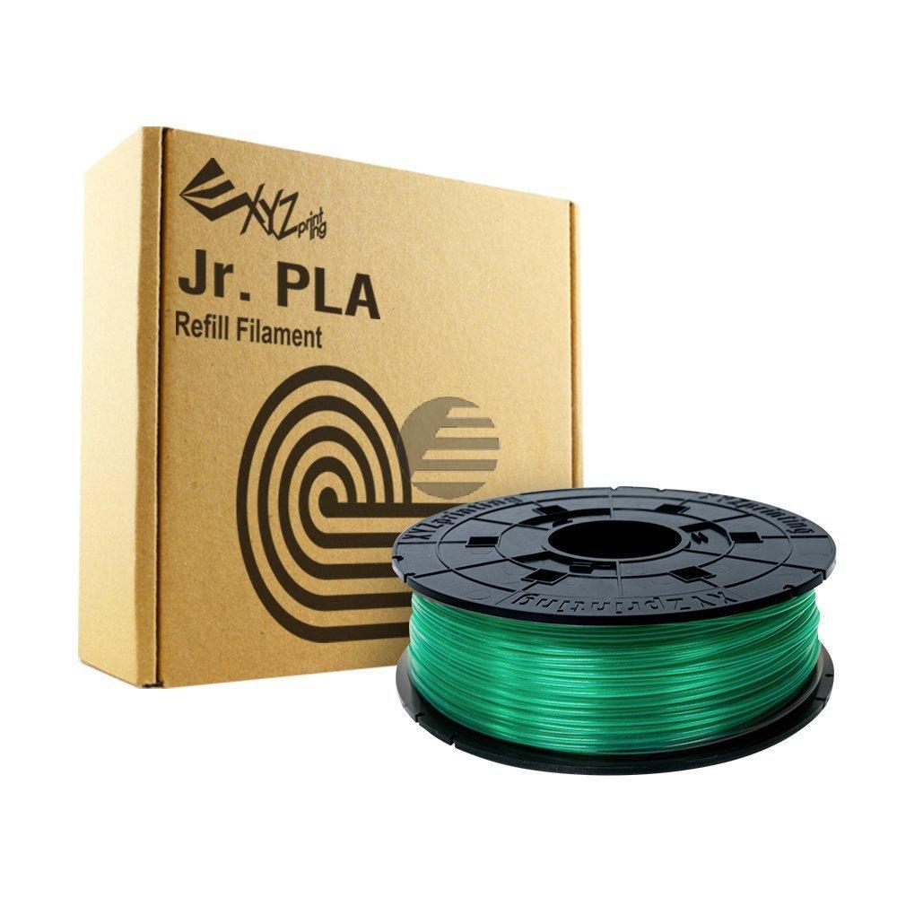 PLA FILAMENT JUNIOR CLEAR GREEN RFPLCXEU04G 1.75mm 600gr